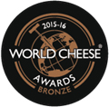 Médaille de bronze - WORLD CHEESE AWARDS