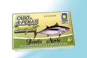 White Meat Tuna in extra virgin olive oil Ecological Cabo de Peñas