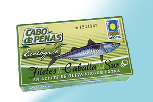 Fillets of Southern Mackerels in extra virgin olive oil Cabo de Peñas