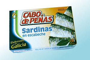 Sardines in pickled sauce Cabo de Peñas