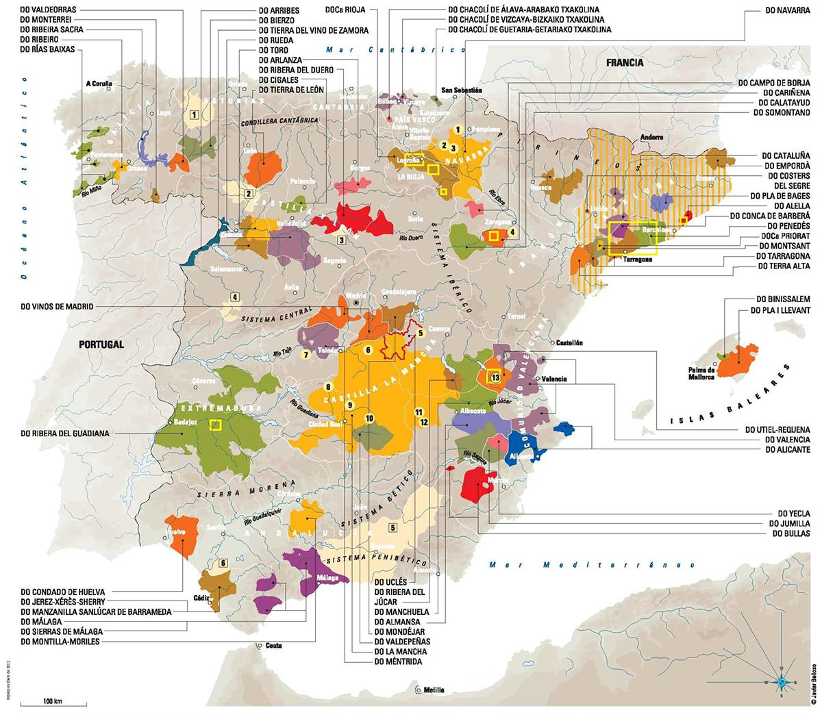 Nos Vins Vinos Granada Vanden Bussche Et Fils